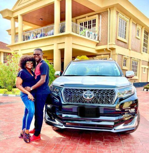 JJC Skillz Acquires Brand New Car Days After Wife, Funke Akindele